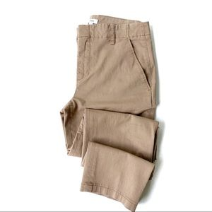 VINCE Tan Skinny Ankle Trouser Career Pant Size 4